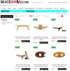 La mejor tienda de skate con regalos originales para skater, decoracion y muebles de estilo skateboard - Skate-Home Skateboard Furniture, Random Stuff, Furniture Design, House, Shopping, Original Gifts, Random Things, Home, Homes