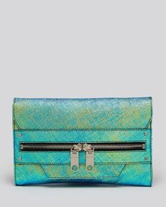 Iridescent Milly clutch