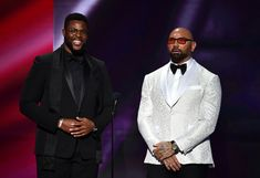 David Bautista Photos - (L-R) Winston Duke and Dave Bautista speak onstage during the NAACP Image Awards, Presented by BET, at Pasadena Civic Auditorium on February 2020 in Pasadena, California. - BET Presents The NAACP Image Awards - Show Home Photo, Photo L, Batista Wwe, Dave Bautista, Pasadena California, February 22, Auditorium, Duke, Awards