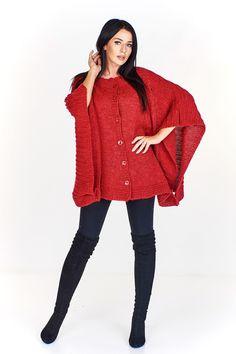 Dámský svetr pončo se zapínáním. Dresses, Fashion, Vestidos, Moda, Fashion Styles, The Dress, Fasion, Dress, Gowns