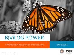 Zapraszamy do lektury raportu B(v)log Power poświęconego wpływowości blogerów i vlogerów. To najszersze i najbardziej kompleksowe badanie blogo- i vlogosfery przeprowadzone do tej pory w Polsce! Mamy w nim swój udział. Zobaczcie! http://psbv.pl/blog/portfolio/raport-blog-power/
