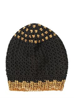 MISSONI - WOOL KNIT HAT - LUISAVIAROMA - LUXURY SHOPPING WORLDWIDE SHIPPING - FLORENCE