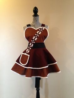 Chewbacca Chewbacca Apron Cosplay Apron Star by AriaApparel