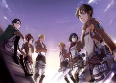 Eren Jaeger Mikasa Ackerman Armin Arlert Attack On Titan Shingeki No Kyojin Anime 1080p Wallp Attack On Titan Anime Attack On Titan Levi Attack On Titan Art
