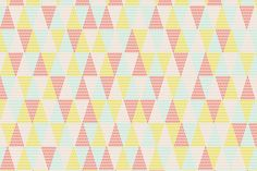 Tiny Tree Triangle Wallpaper by Maria Bergström Triangle Wall, Wallpaper Paste, Photo Wallpaper, New Wall, Triangles, Decoration, Cute Wallpapers, Wall Murals, Geometry