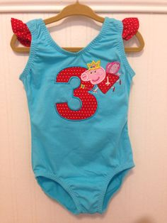 Hey, I found this really awesome Etsy listing at https://www.etsy.com/listing/179888652/custom-peppa-pig-character-leotard
