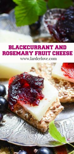 Blackcurrant and rosemary fruit cheese is a super easy preserve to make. It goes perfectly on a cheeseboard or antipasti platter. #larderlove #blackcurrant jam #fruit cheese Antipasti Platter, Real Food Cafe, Scottish Recipes, Homemade Spices, Larder, Chutneys, Allotment, Spice Mixes, Summer Recipes