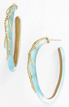 Alexis Bittar 'Ophelia' Vine Hoop Earrings