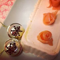 y tan flamenca!: receta: terrina de salmón - recipe: salmon terrine