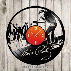 Elvis Presley Birthday decoration wall clock vinyl record