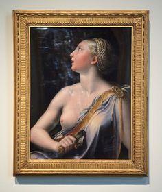 A painting of Lucrezia Borgia