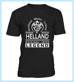 Shirt HELLAND Original Irish Legend Name front (*Partner Link)