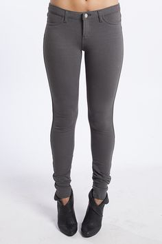 You'll never be late with these leggings in slate!  You'll know exactly what to wear every morning!  Available at TrendyBlendy.com.  $29.40 http://www.trendyblendy.com/products/fabulous-luxe-leggings-in-slate