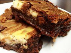 O brownie por si só já é uma tentação. Imagina juntar essa delícia com o cream cheese, que é outro ingrediente de dar água na boca? É sucesso…