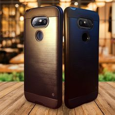 LG G6 case - black neo hybrid drop case cover w FREE glass screen protector