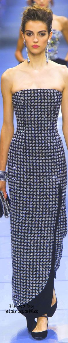 Paris Fall Couture 2016 Armani Prive  ~ ♕♚εїз   BLAIR SPARKLES  