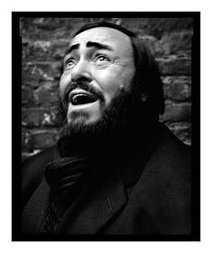 Luciano Pavarotti | by Mark Seliger