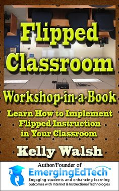 Flipped Classroom Workshop in Book. Develop A Personalized Flipped Teaching Plan. Affordable Professional Development and Training for teachers. Teaching Plan, Teaching Strategies, Teaching Ideas, Learning Methods, Learning Resources, Teacher Resources, Classroom Resources, Instructional Technology, Educational Technology