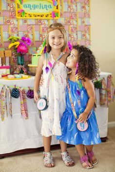 Retro 70's Barbie Camping 6th Birthday Girl Party Planning