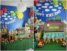 Casa Montada: A Festa Angry Birds