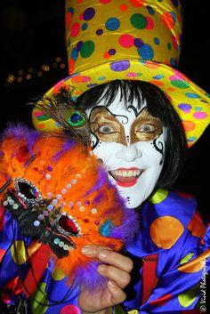 Kaleidoscope Clown by Judee Schofield