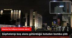 Çağlayan Adliyesinin Karşısındaki Otobüs Durağına Bomba Koymuşlar! | T.C. Devriye Haber