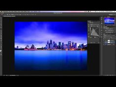 Photoshop Tutorial: Layers & Layer Masks For Beginners - YouTube -  It's a little longer than it needs to be, but very thorough for a beginner.