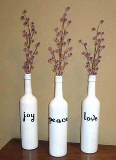 Little House on the Corner: Dare to DIY: Christmas Vases