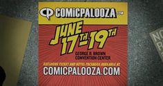 Super excited for #Comicpalooza this year.... Too many stars to list here... See you there #Comicpalooza #CPPodFamily #CPHTX