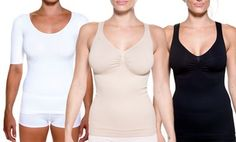 Groupon - Rounderbum Shapewear Tops in [missing {{location}} value]. Groupon deal price: $10