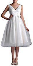 Top 40 Most Loved Tea Length Wedding Dresses - Deer Pearl Flowers