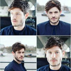 Damn!!!! He looks so good Iwan Rheon