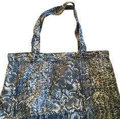Tory Burch Grey Snake Tote 53% off retail d8f0c9af5a110