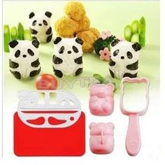 New Cute Punch Sushi Maker Rice Ball Mold Onigiri Mould Nori DIY Maker Bento Tool Panda Shape Cooking Tools Bento Accessories on Aliexpress.com | Alibaba Group
