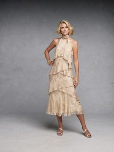 Tea Length Wedding Dresses For Older Brides | Posted by Admin