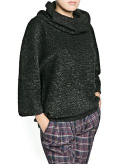 Suéter lã e alpaca