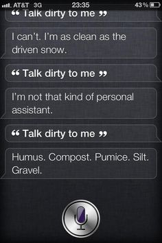 When this wasn't what you had in mind. | 29 Times Siri Was Actually A Bit Of A Dick
