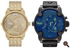 Diesel Uhr für Herren – Armbanduhren in schwarz, weiß, rot, silber & gold