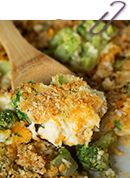 Broccoli, Rice, and Chicken Casserole - Table for Two
