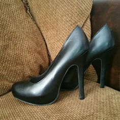 Black Candies Black Candies Heels. SIZE 6. Minor scratches on heel. Otherwise in great condition with minimum wear on soles. Bundle 2+ and get 20% off! Candie's Shoes Heels