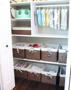 20 Simple And Practical Nursery Organization Hacks