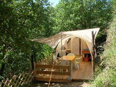 La Cazette vakanties en volpension kamperen in Zuid-Frankrijk open van eind juni tot begin september