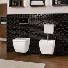 Villeroy & Boch Finion Wand-Tiefspül-WC, offener Spülrand, DirectFlush starwhite, mit CeramicPlus