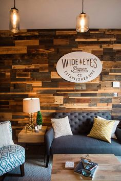 Wide Eyes Paper Co Rustic Chic Office : Front + Main / Photography by Jasmine Fitzwilliam