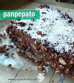 Introducing panpepato a delicious Italian Christmas cake. Gluten free, vegan and stores for up to 14 days. Prepare it a day before consuming. www.yoganutrition.com