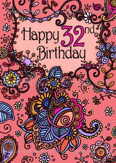 Happy Birthday - Mendhi - 65 years old card. Personalize any greeting card for no additional cost! Cards are shipped the Next Business Day. Happy 75th Birthday, Birthday Poems, Birthday Images, Happy Birthday Wishes, Birthday Invitations, Birthday Board, Happy Mother's Day Card, Happy Mothers Day, Image Pixel Art