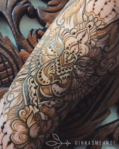"""""""Erotic Mehndi"""": The Incredible Henna Art By Mary Ginkas – Design You Trust"""
