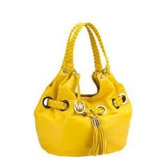 Authentic Michael Kors Braided Grommet Authentic MICHAEL Michael Kors Braided Grommet Large Shoulder Tote in yellow. Includes braided stripes, drawstring and fringe tassels. Add a pop of color to your wardrobe. Comes with dust bag.   NO SWAPS PLEASE!  PRICE NEGOTIABLE!  #mk #michaelkors #shoulderbag #braided #grommet #tote #authentic Michael Kors Bags