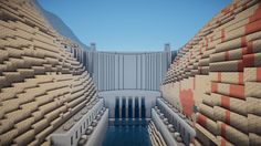 [Minecraft] Dam by Yazur.deviantart.com on @DeviantArt