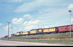 RailPictures.Net Photo: CNW 1532 Chicago & North Western Railroad EMD GP7 at Melrose Park, Illinois by Marty Bernard